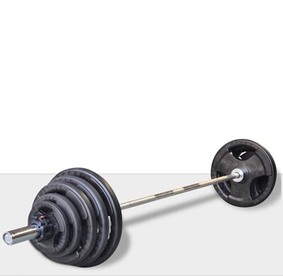 DKN 130 kg Olympic Barbell set